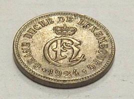 10 центов, 1924 г Люксембург