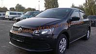 Дефлекторы капота Sim для Volkswagen Polo Седан 2009