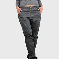 Женские темно серые брюки Stina от Peppercorn в размере XL