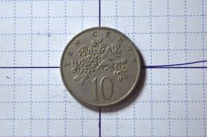 Ямайка 10 центов 1969 год.  (АЖ-27)