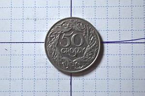 Польша 50 грошей 1923 год  (АЖ-20)
