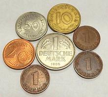 Германия, 7 монет