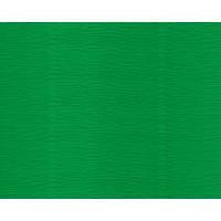 Бумага гофрированая (крепированая) 180 г/м2, (ДхШ) 125см.х50см. зеленый 563