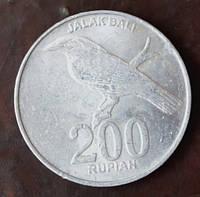 Индонезия 200 рупий 2000 год (АЗ-10)