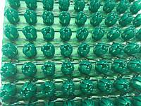 Щетинистое покрытие зеленый металлик  Польша