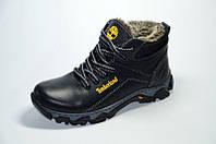 Подростковые кожаные зимние ботинки Timberland, фото 1