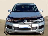 Дефлекторы капота Sim для Volkswagen Touareg 2010-14