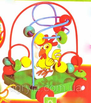 Серпантинка каталочка - пальчиковый лабиринт, фото 2