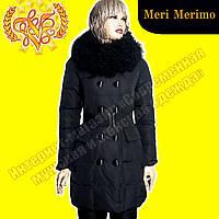 Женский пуховик Meri Merino 1918 Black