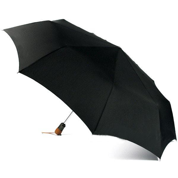 Мужской зонт Zest-13930, с деревянной ручкой, полный автомат, 3 сложения.