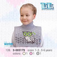 """Манишка для девочки из новой коллекции """"TuTu"""" арт. 3-003179"""
