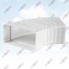 ФОТО: Универсальный угловой соединитель для плоских каналов