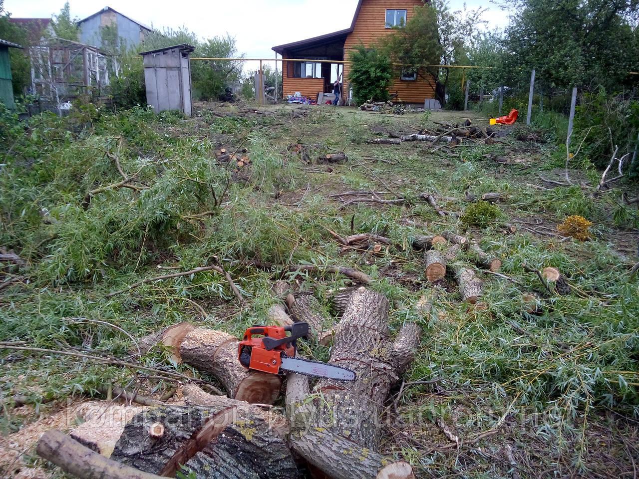 Розчищення ділянки від дерев (067) 409 30 70