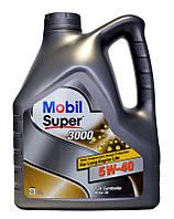 Автомобильное масло для двигателя Mobil Super 3000 5w40 (4l)