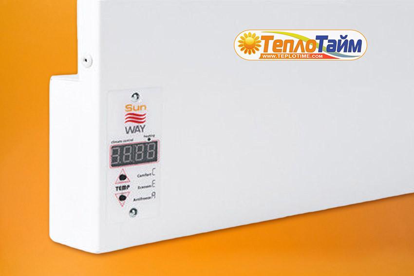Інфрачервоний обігрівач SunWay SWRE-1000 (1000 Вт), (инфракрасная панель)