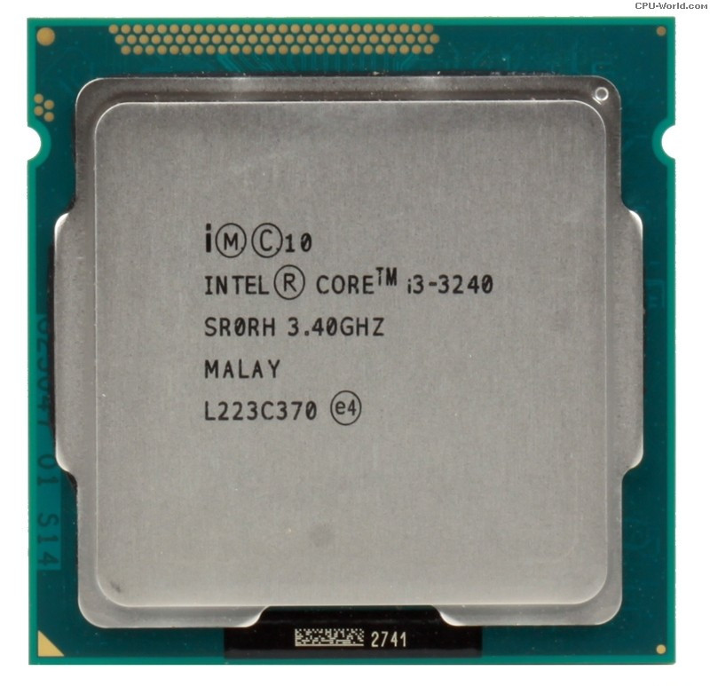 "Процессор Intel Core i3-3240 BX80637I33240 3.4GHz Socket 1155 Tray ""Over-Stock"" Б\У"