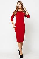 Платье женское Эльвира красный