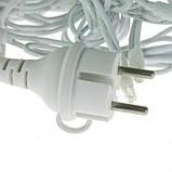 Світлодіодна гірлянда БАХРОМА МЕРЕХТІННЯ 3*0.5 м, каучуковий кабель, колір холодно-білий, фото 4