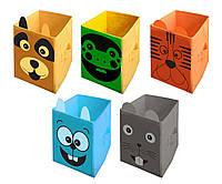 Ящик для хранения игрушек 25*25*38 см