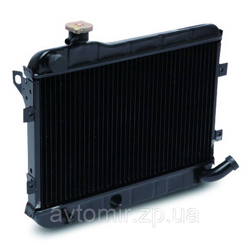 Радіатор охолодження Ваз 2101,2102,2103,2104,2105,2106,2107 ЛУЗАР (мідний) (LRc 0101c)