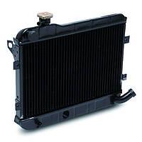 Радиатор охлаждения Ваз 2101,2102,2103,2104,2105,2106,2107 ЛУЗАР (медный) (LRc 0101c), фото 1