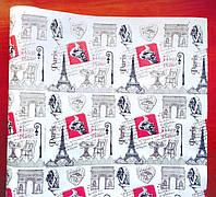 Бумага флористическая Париж