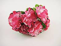 Цветок Розовый для рукоделия
