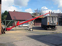 Стационарные шнековые транспортеры - 100 т/час