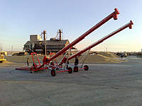 Шнековый погрузчик зерна