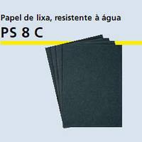 Водостойкая бумага шлифовальная  PS 8 Aлисты 230 х 280 Klingspor, листы 230х280 мм зерно р180