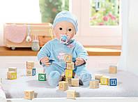 Интерактивный пупс-мальчик 43 см. Zapf Creation Baby annabell 794654