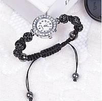 Женские часы / браслет шамбала черный