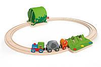 """Набор железной дороги """"Путешествие по джунглям"""", HAPE  E3800"""