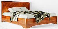 """Кровать деревянная """"Милена"""" с интарсией, фото 1"""