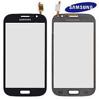 Touchscreen (сенсорный экран) для Samsung I9082 Galaxy Grand Duos, оригинальный (черный)
