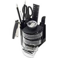Настольный набор BUROMAX 6306-01 черный