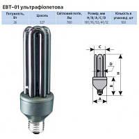Люминисцентная лампа ультрафиолетовая Delux EBT-01 26W E27 230v