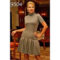 Очаровательное женское платье с трикотажа «лакоста»