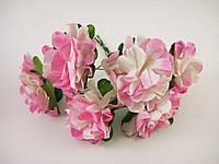 Цветок Розовый с белым, фото 1
