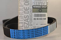 Поликлиновый ремень на Renault Trafic II 06->2014 2.5dCi (146 л.с.)— Renault (Оригинал) - 11 72 079 44R