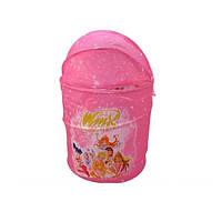 Корзина для игрушек Винкс (Winx), купольная, розовый