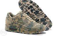 Кроссовки камуфляж Nike Air Max 90 VT Camouflage Military
