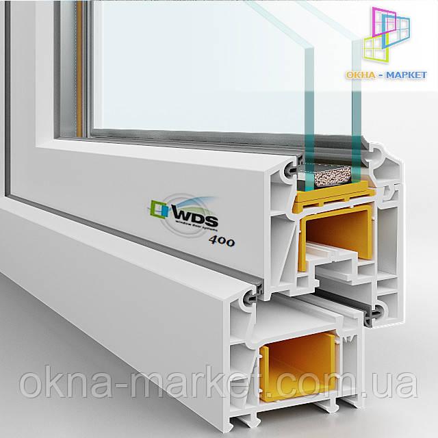 Профильная система WDS 400, для остекления лоджии с выносом. /044/ 227*9349;
