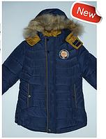 Куртка зимняя для мальчика на холлофайбере