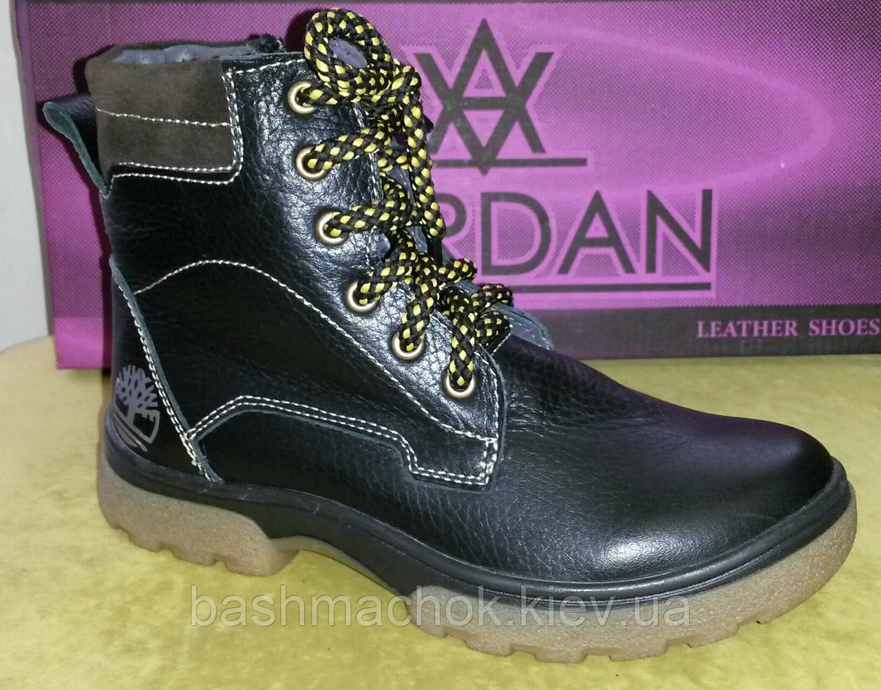 Детские кожаные зимние ботинки Jordan размер 32.33.34.38  продажа ... bbb65e2e729f8