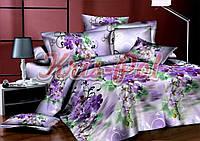Комплект постельного белья полиэстер 3D ТМ KRIS-POL (Украина) полуторный 4985049