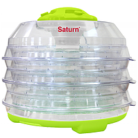 Сушилка для продуктов Saturn ST-FP0112 зелено-прозрачная