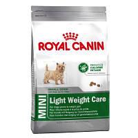 Royal Canin Mini Light Weight Care 2 кг для маленьких пород, склонных к полноте, фото 1