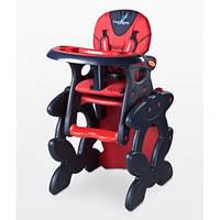 Стульчик-трансформер Caretero Primus - red , многофункциональный стульчик