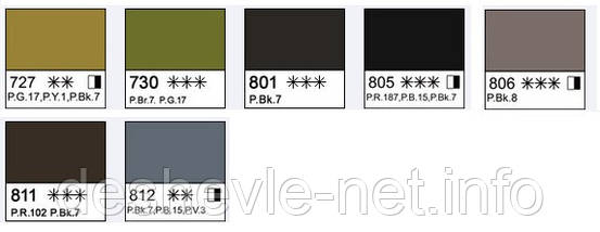 Краска акварельная, Белила цинковые, 2,5мл, Белые Ночи, фото 2
